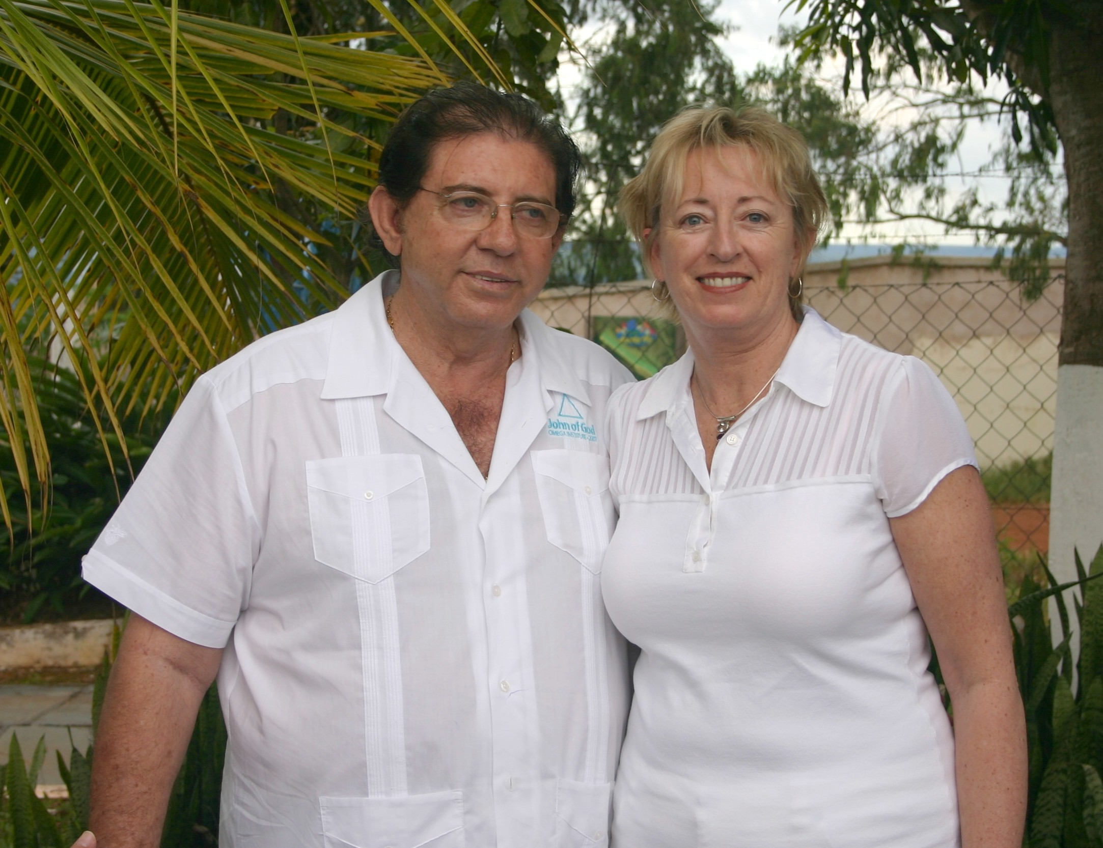Georgia with John of God in Brazil, April 2008